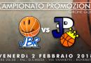 13° GIORNATA CAMPIONATO PROMOZIONE – GIRONE GOLD